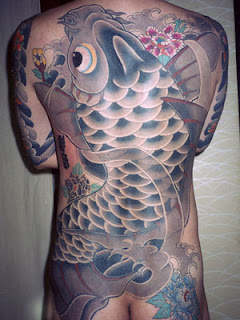 Japanese Big Koi Tattoo Design