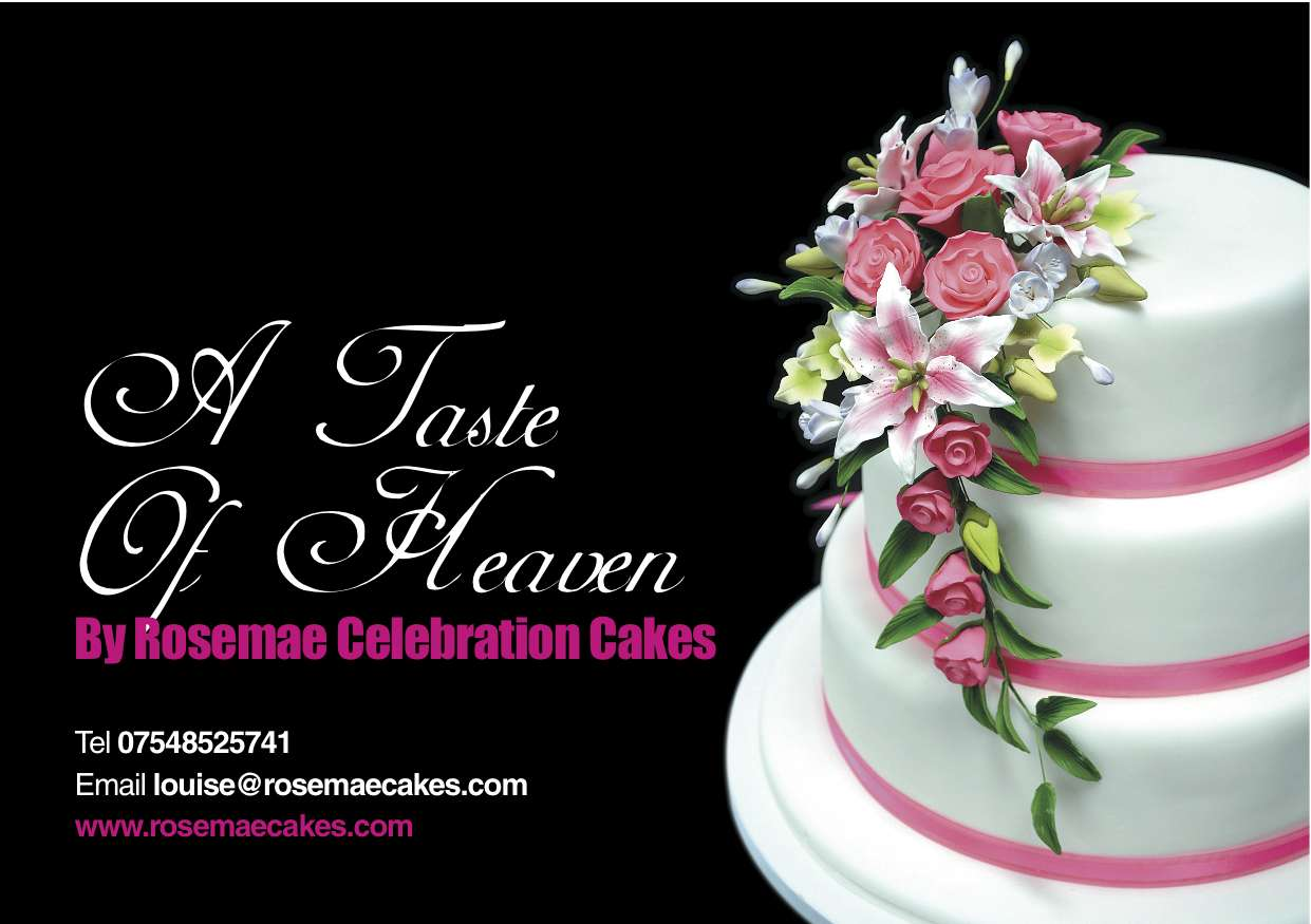 Fast Flyer Printing Is Used By Rosemae Cakes Fast Flyer