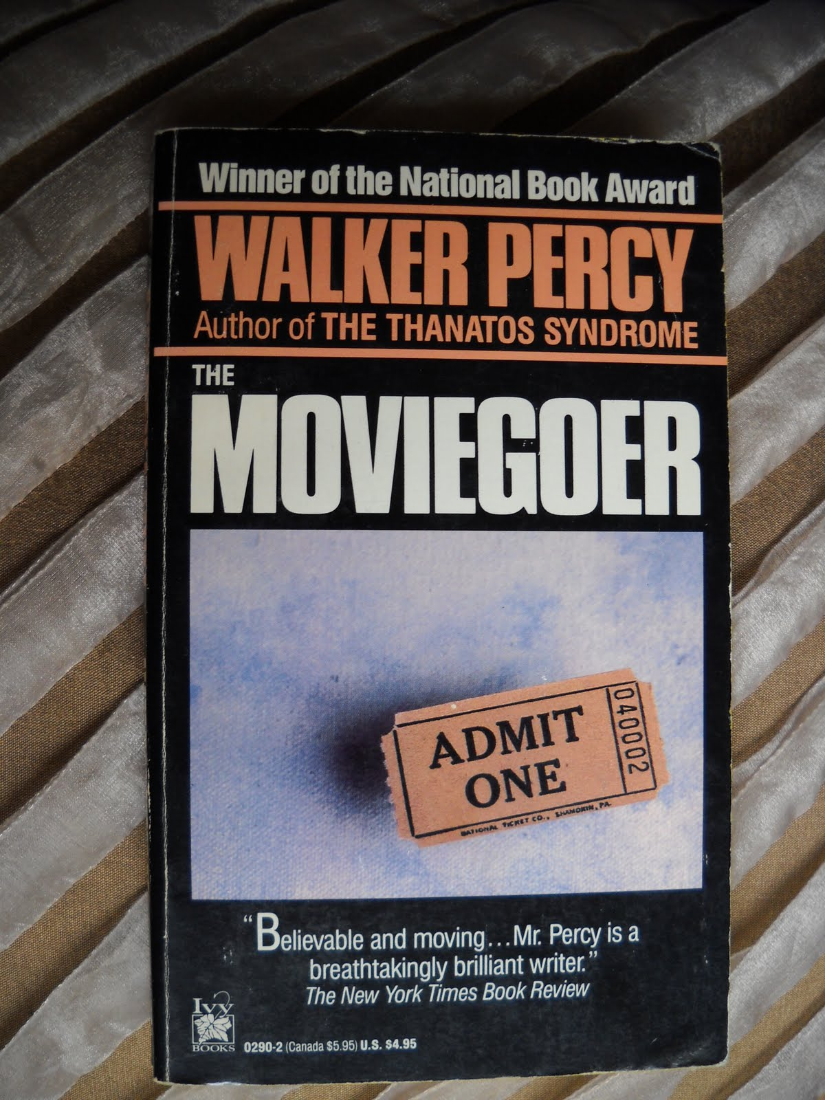the character of binx bolling in the moviegoer by walker percy By martha ashe in his widely celebrated novel, the moviegoer (1961), walker  percy presents the intriguingly complex protagonist binx bolling in the  he  observes—acquaintances and strangers alike—into basic character.