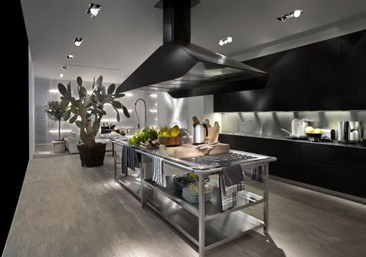 Kitchen With Modular Work Island EL ARCHITECTURE AND - Contemporary kitchen with modular work island el_01 by elmar