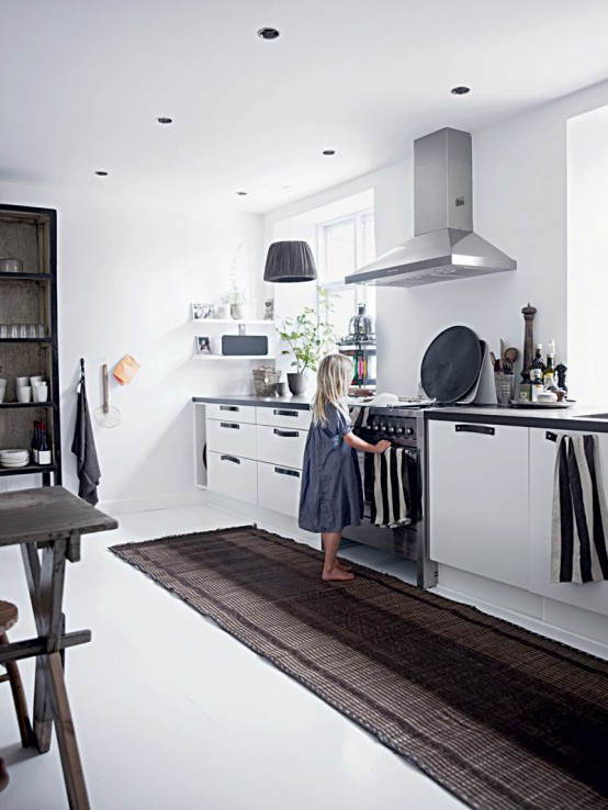 DarkGray Kitchen Walls