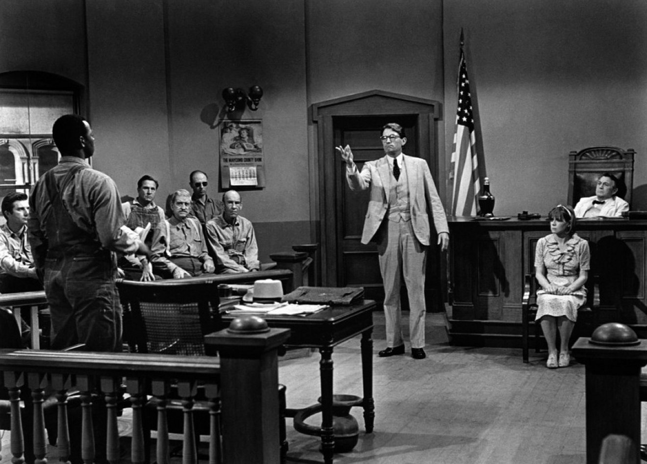 To kill a mockingbird atticus in court - photo#4