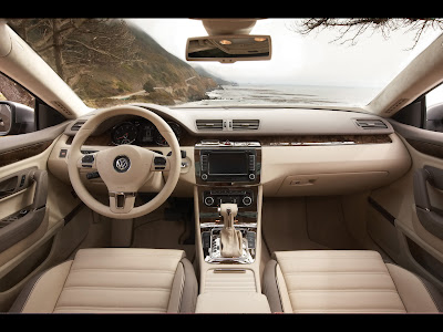 Interior view of 2011 Volkswagen CC Sport