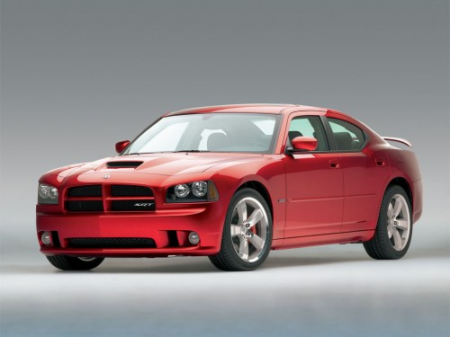 Front 3/4 view of 2011 Dodge Charger SRT-8