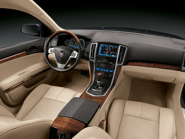 Interior view of 2011 Cadillac STS