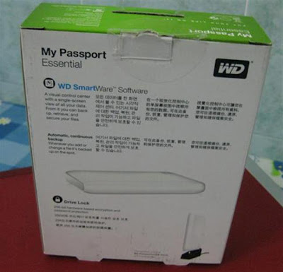 WD Passport Essential