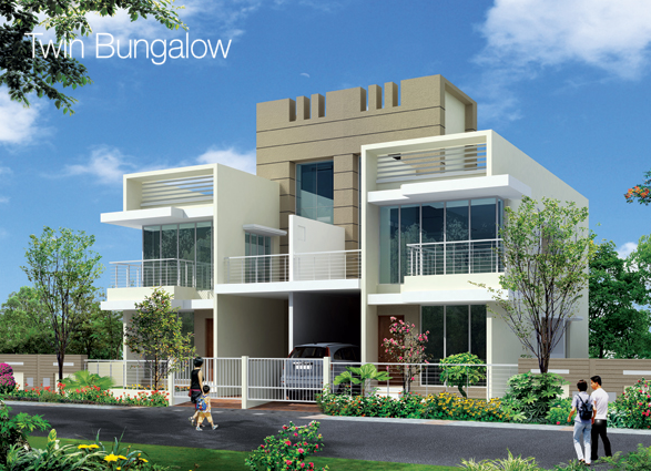 Row Houses & Twin Bungalows in Leela Greens at Talegaon Pune 410 506