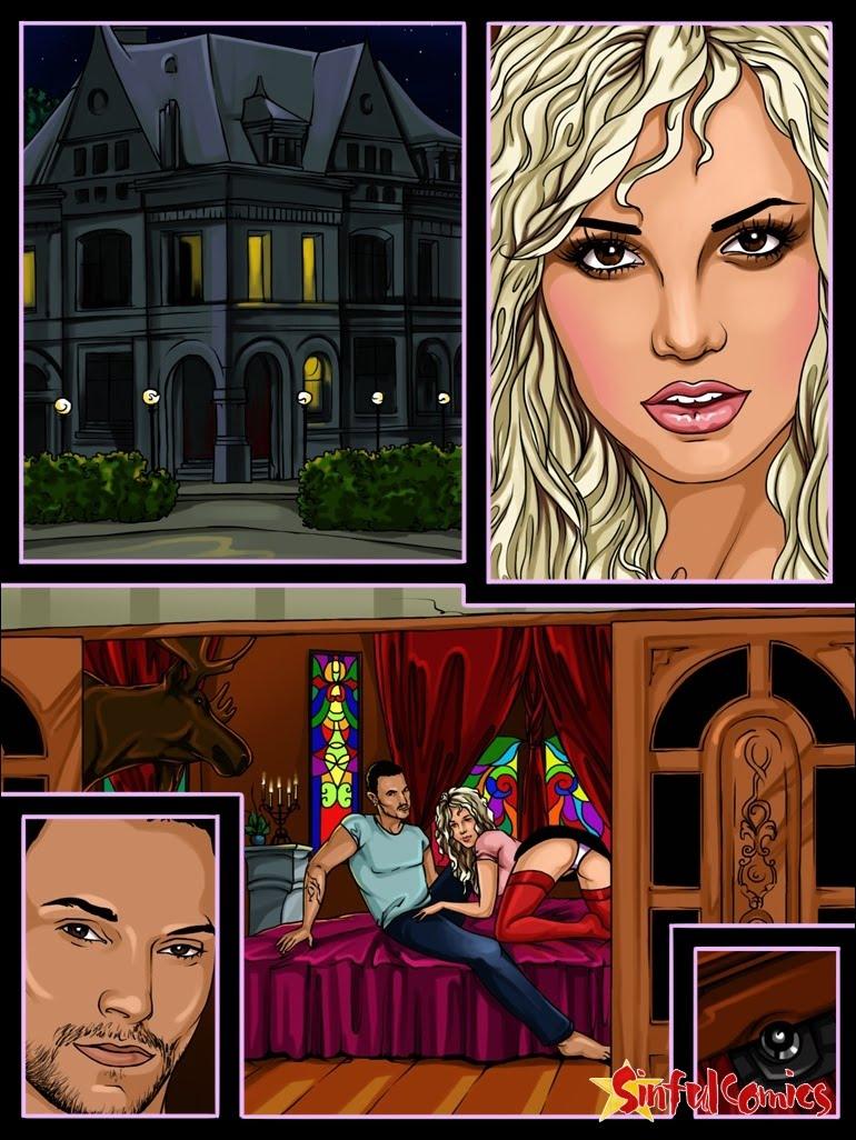 Britney Sex Games