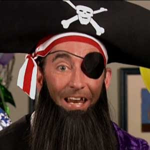 Patchy the pirate is angry