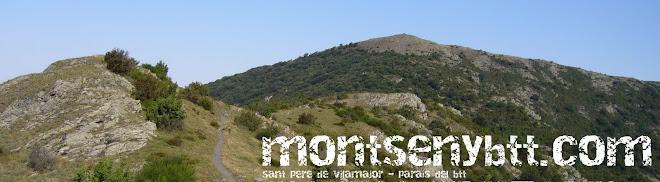 Montseny btt rutes i tracks