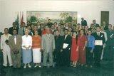 Homenagem dos formandos do IBADEP-núcleo 10 em Toledo-Pr.