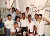 Meus colegas de Pindamonhagaba-SP em 1986!!!