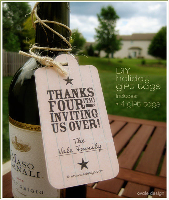 Wedding Shower Hostess Gift Etiquette : Bridal shower gift for hostess etiquette - Attach One Of These Tags To ...