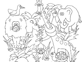 Jungle Safari Vbs Coloring Sheets