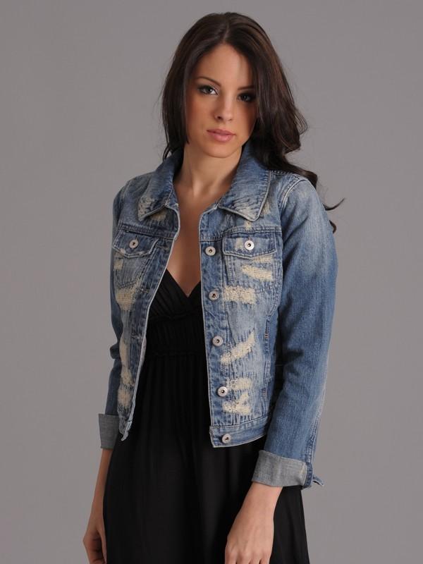 denim jacket with dress. Levi#39;s denim jacket with a
