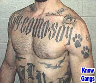 gangster tattoo. But what about those massive gang tattoos?