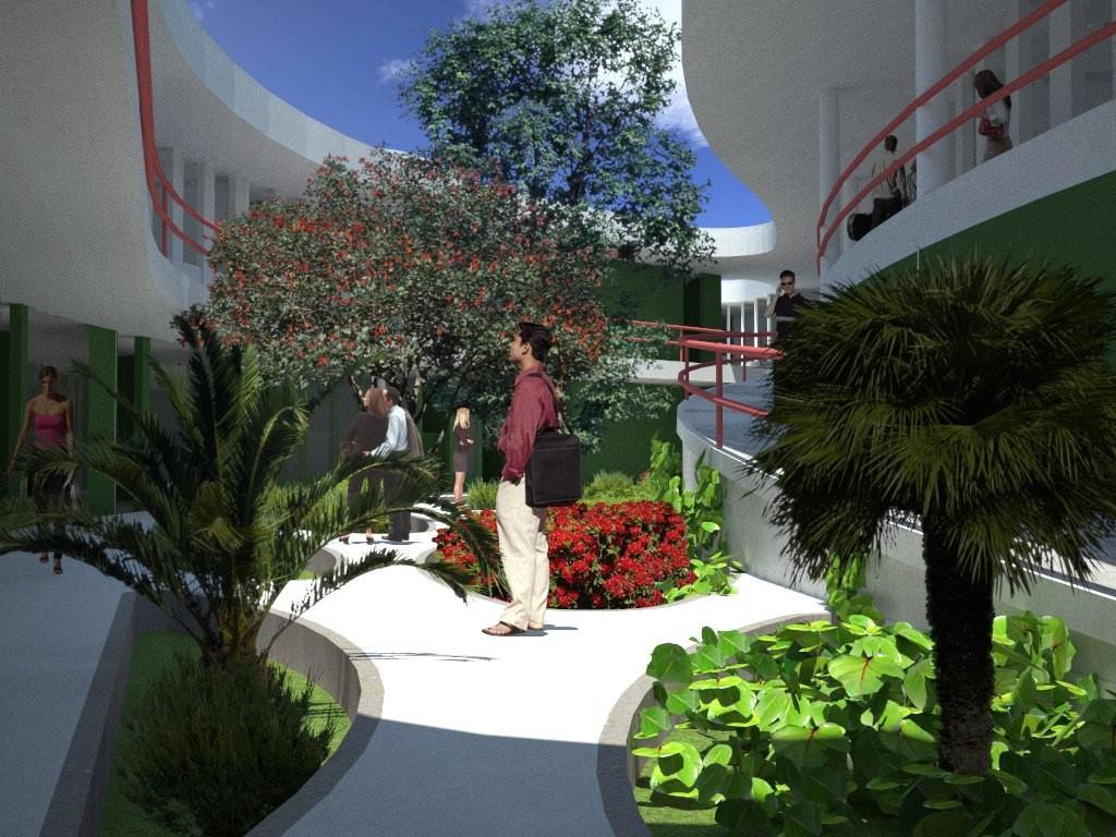Legado ab proyecto de grado tesis for Central jardin rixensart