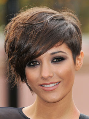 In this picture gallery you will see her cute pixie hairstyle, along with a