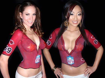 Sports Jersey Body Painting