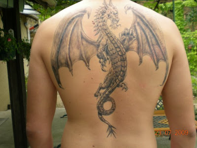 Excellent Dragon Tattoo Designs