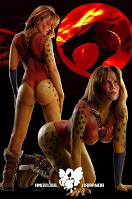 Thundercats Body Painting