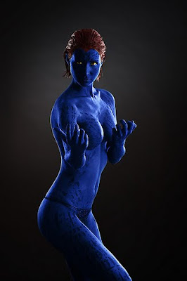 Mystique Body Painting