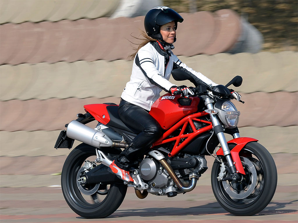 Botte Moto Cafe Racer Femme