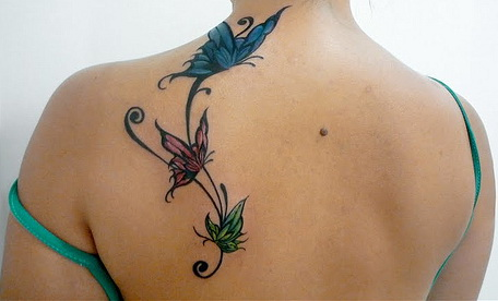 Best Butterfly Tattoos on Shoulder
