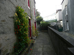 Alleyway in the Shetlands