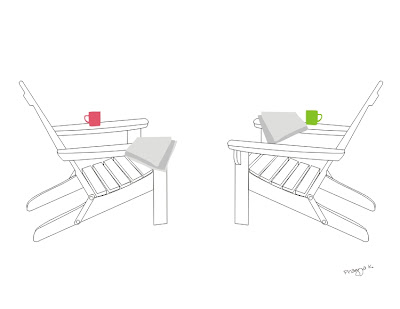 Two chairs, illustration