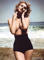 Eva Herzigova Topless In DT Magazine