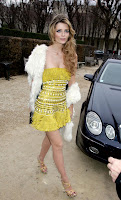 Mischa Barton Is So Skinny, Her Dress Can't Stay Up