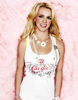 Britney Spears Lingerie Picture For Candies