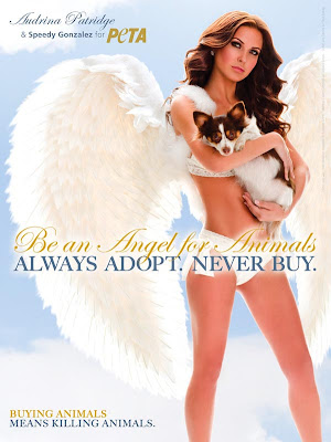 Audrina Patridge Does PETA