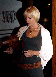 Jaime Pressly Fills Out Her Tank Top