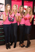 The Victoria's Secret Models Attending A Holiday Shopping Event In New York City