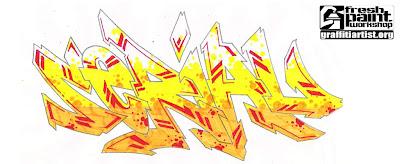 3D Graffiti, Graffiti Letters, Wildstyle Graffiti