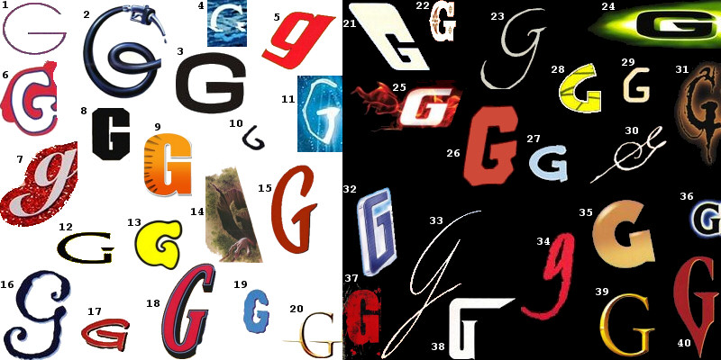 letter a graffiti style. Graffiti Letters G in Many