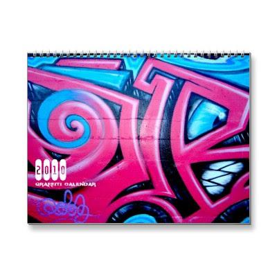 Graffiti 2010 Wall Calendar,graffiti 2010