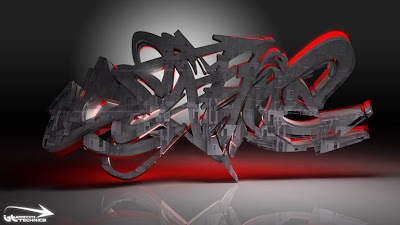 3D Graffiti Art,Graffiti Art