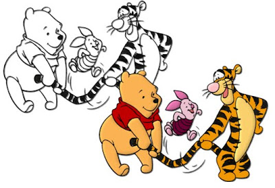 Disney Coloring Pages, Winnie the Pooh Coloring Pages,