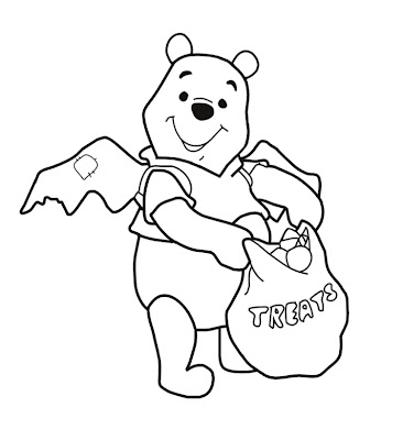 Halloween Coloring Pages, Winnie the Pooh Coloring Pages, Disney Coloring Pages,