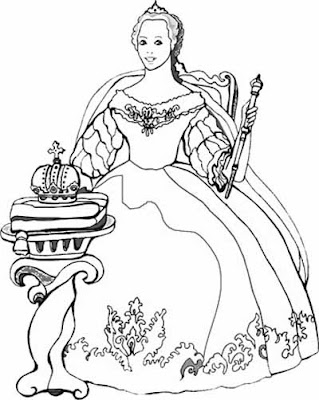 coloring pages disney tinkerbell. Disney Princess Berta Coloring