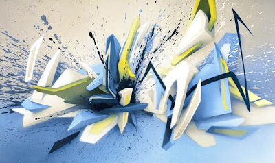 3D Graffiti,graffiti letters