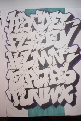 graffiti alphabet,graffiti letters,alphabet graffiti