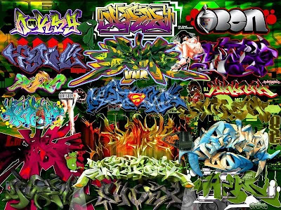Graffiti Alphabet Wallpaper. Graffiti Alphabet is a zone of