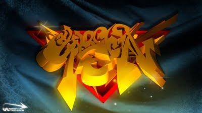 graffiti alphabet,3d arrow graffiti