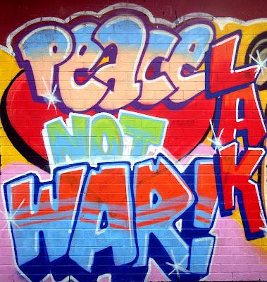 populer graffiti alphaber murals 2010