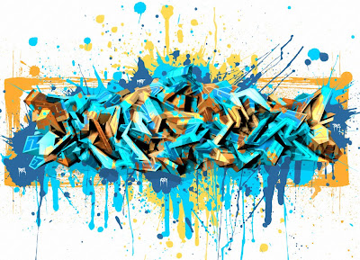 Fashion Software on Planet Galeri  3d Arrow Graffiti Wild Art With Spray Brushes  Bubble