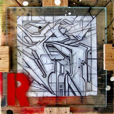 Graffiti Letters  R